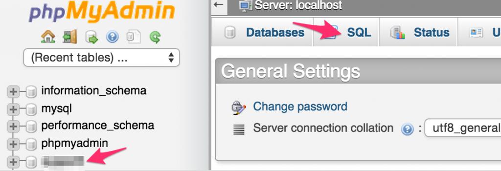 MySQL Replace - Step 1